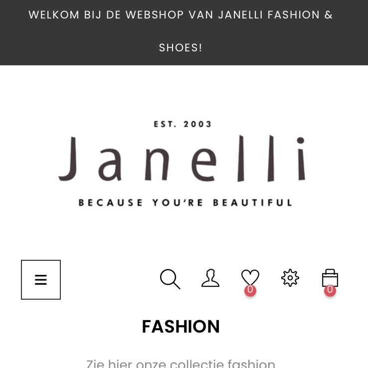 Shop nu online @ Janelli